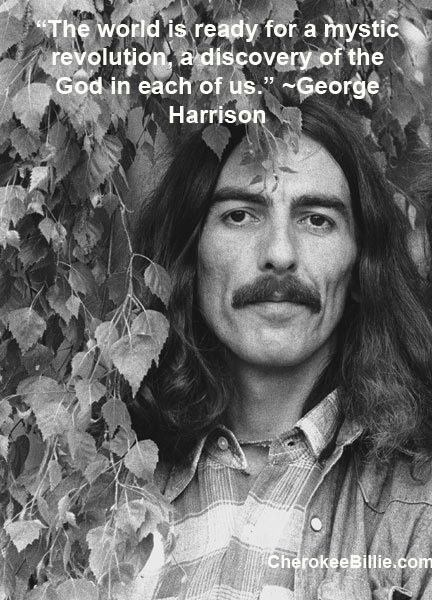 George Harrison.  George seemed to be zenful and insightful.