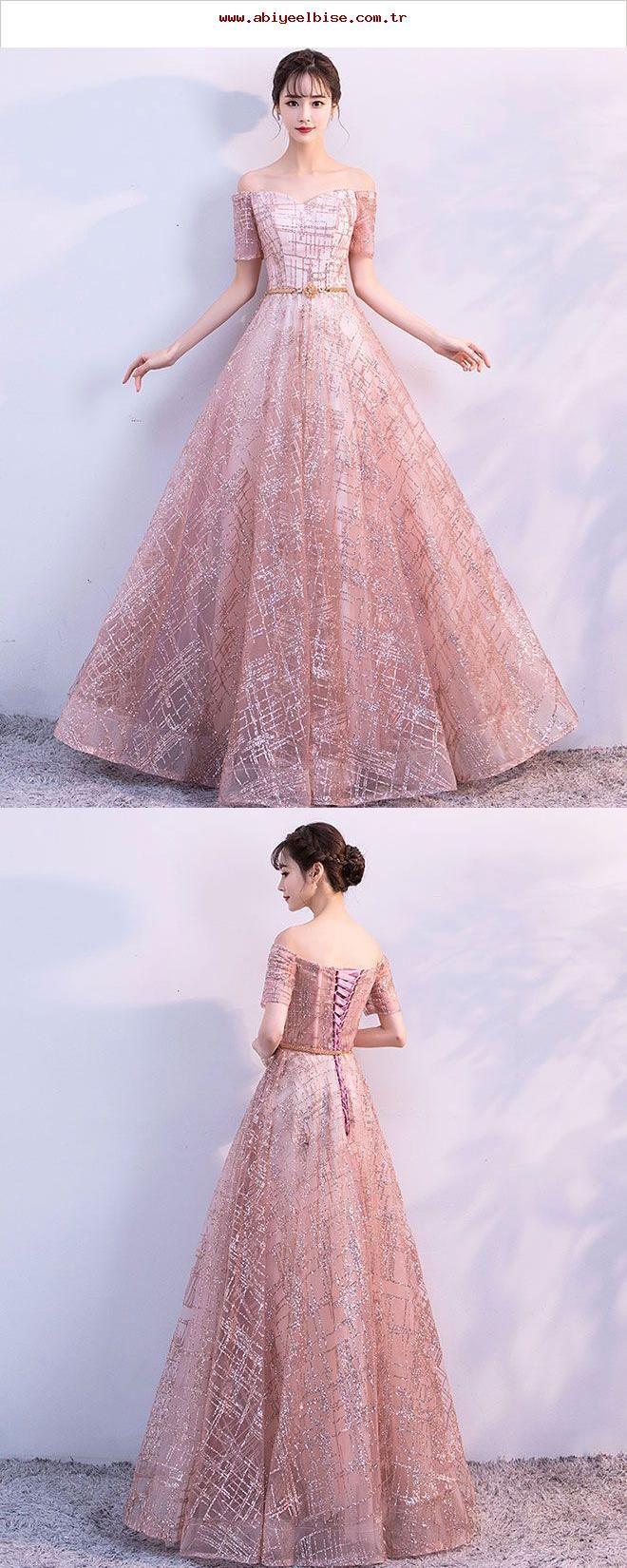 Schönes langes Tüllkleid aus Tüll, Abendkleid, #abendkleid #langes