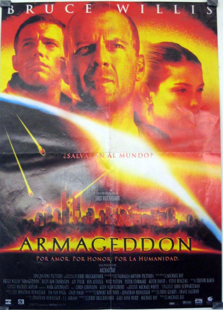 armageddon movie poster - 736×1023
