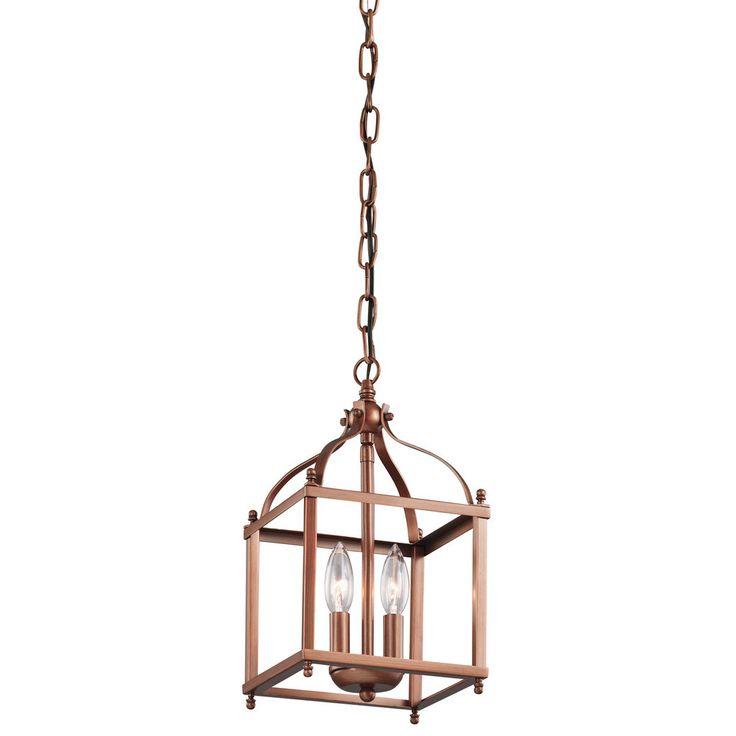 Kichler Lighting Larkin Collection 2-light Antique Copper
