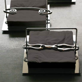 Making serviette holders look beautiful