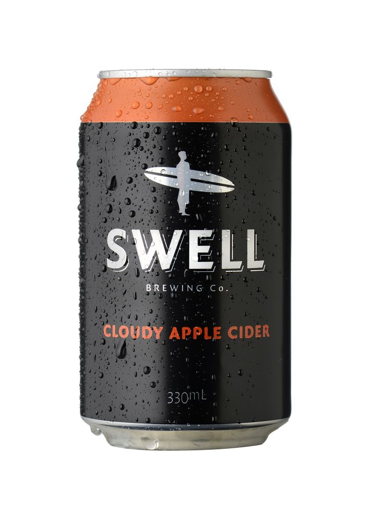 Cloudy Apple Cider - Swell Brewing Co