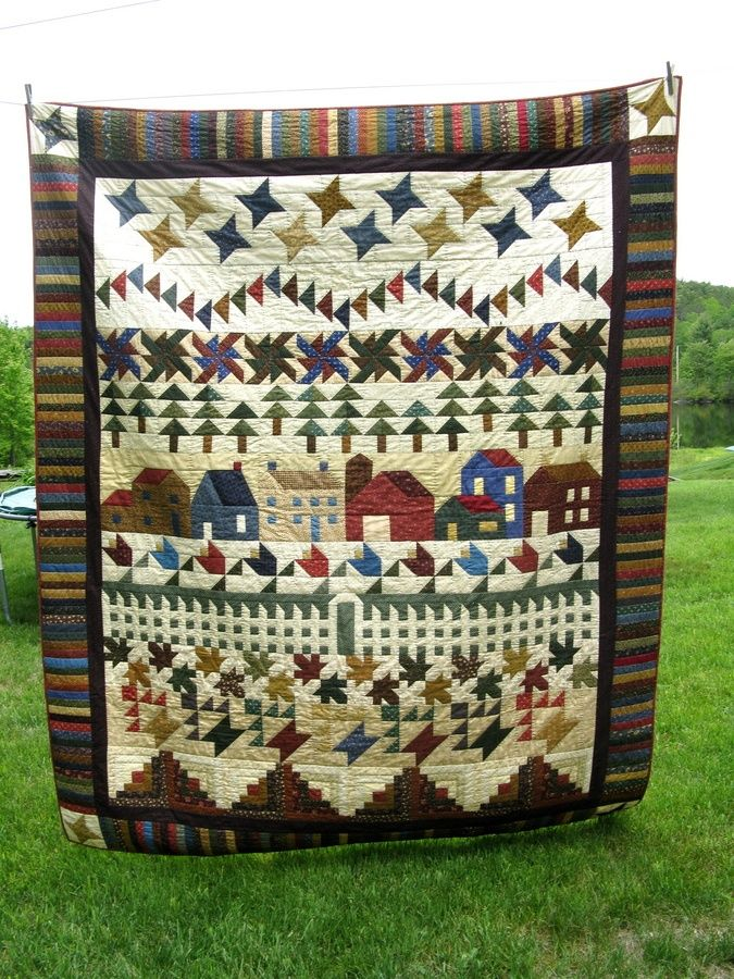 33 Best Row By Row Quilts Images On Pinterest Quilt