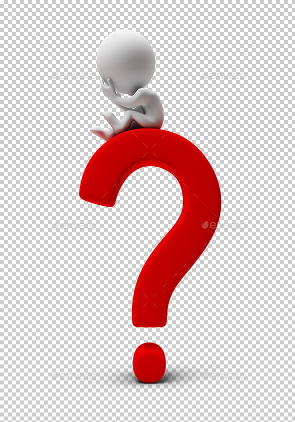 3d Small People Sitting On A Question Mark 3d Image Transparent High Resolution Png With Shadows This Or That Questions Question Mark Sculpture Lessons