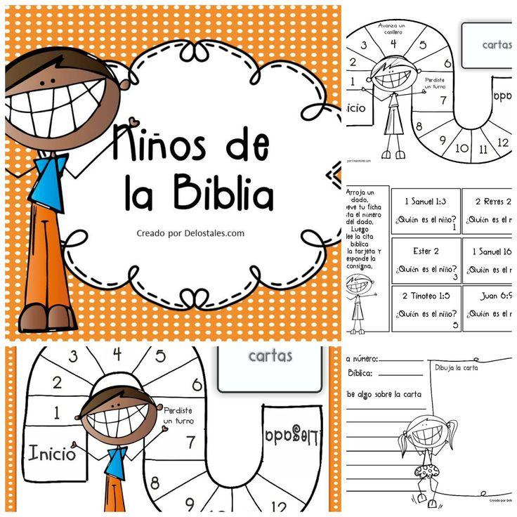De los tales: Niños de la Biblia