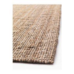 Jute är ett slitstarkt och återvinningsbart material med naturliga färgskiftningar.