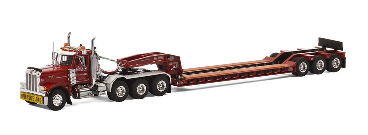 Peterbilt 379 with Rogers Lowboy Trailer - Bay Crane