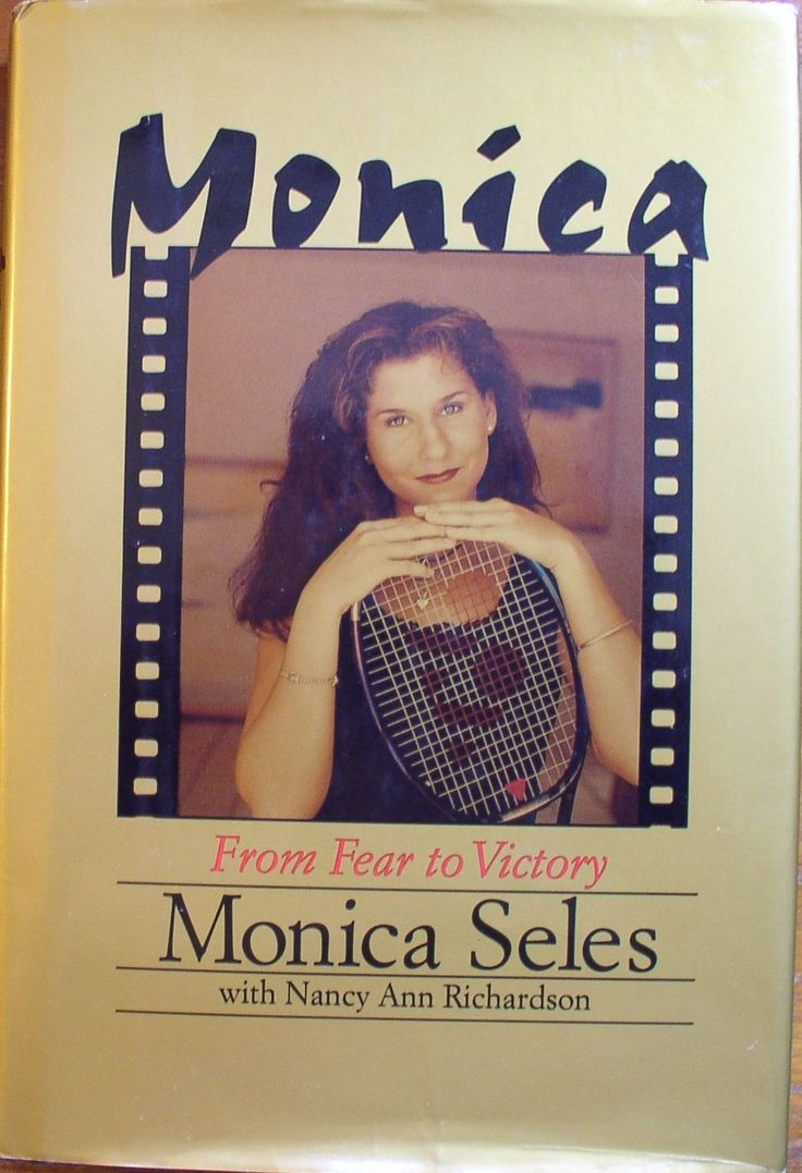 Monica Seles autographed Monica From Fear to Victory hardcover book ...  autographsforsale.com