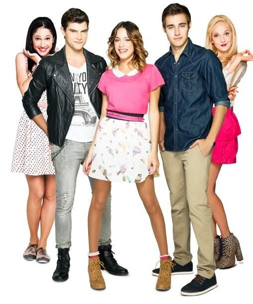 Francesca, Diego, Violetta, Leon & Ludmilla