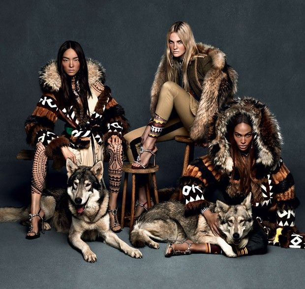 Dsquared2 Fall Winter 2015 Womenswear by Mert and Marcus