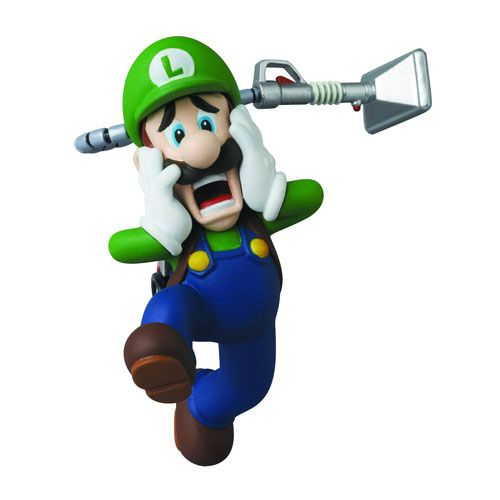 BLOG DOS BRINQUEDOS: Luigi's Mansion 2 Luigi Series 2 UDF Mini-Figure
