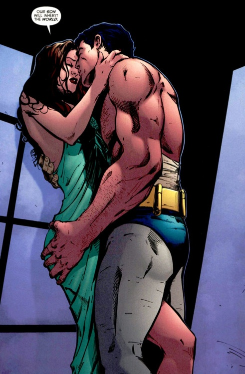 Bruce Wayne and Talia al Ghul