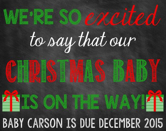 17 Best ideas about Christmas Pregnancy Reveal – Christmas Baby Pregnancy Announcement