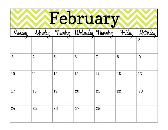 2013 Calendar Printables from Simply Brenna | For the Home ...