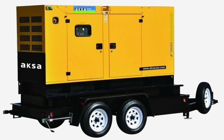 Need an easily mobile commercial or industrial generator? You're in luck! We offer trailer mounted AKSA generators! These top of the line generators are sure to provide you with the power you seek.