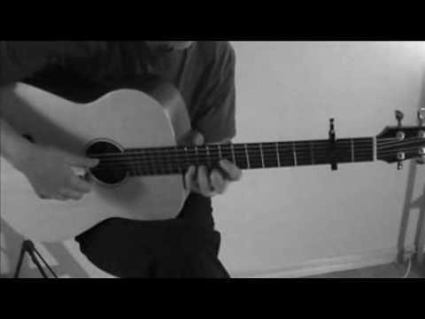 Twin Peaks Theme on baritone guitar