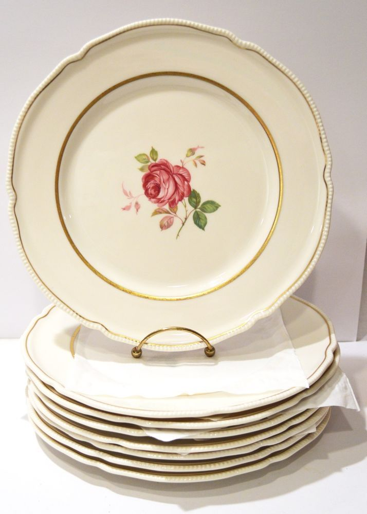 Dolly Madison Dinner Plates By Castleton China Made In Usa 10 3