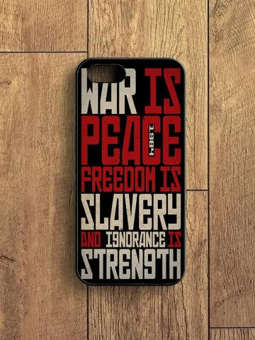 1984 Political Quotes iPhone 5|S Case