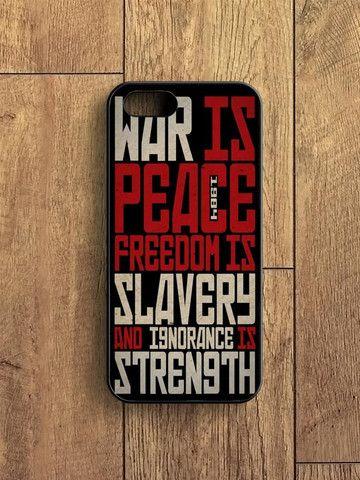 1984 Political Quotes iPhone 5|S Case