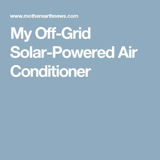 solar energy powered air conditioner pdf