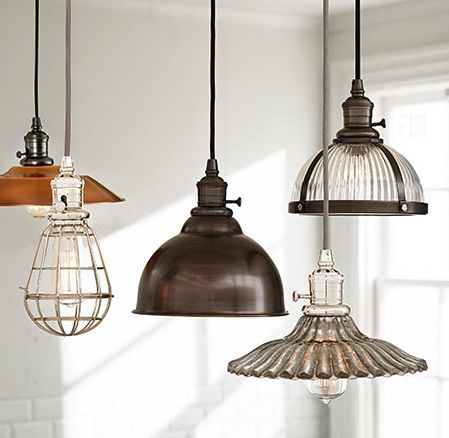 Pottery Barn lights
