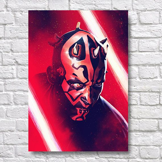 Star Wars Darth Maul Abstract Painting - A4 Wall Art Prints - Fine Art Posters - One Free Print When Buying 3 or More - Starship Use Coupon Code : ONEFREE to save £5.95(one free print) when you spend over £17.50 in my store. effectively Buy 2 prints and get a 3rd FREE Quality and Details Paper: All posters are printed on Olmec(Innova) Photo Lustre 260gsm, instant dry, fade resistant microporous coated heavyweight RC paper. acid free and water resistant paper. This Paper...