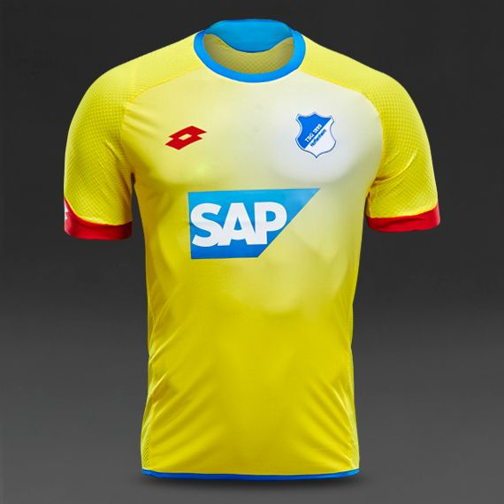 Lotto TSG 1899 Hoffenheim 15/16 Away Shirt - Yellow