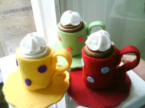 Mocha, Café e Cappucino. Servidos? http://www.facebook.com/oficinamimo