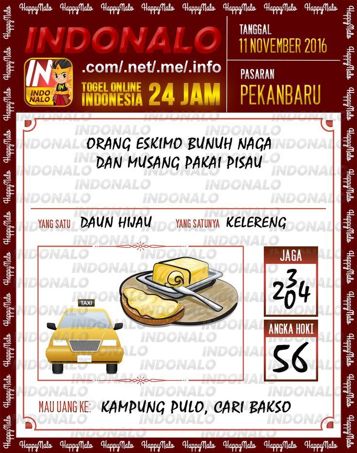 Angka SDSB 4D Togel Wap Online Live Draw 4D Indonalo Pekanbaru 11 November 2016