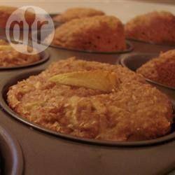 Appel-Zemelen Muffins - lekker en gezond!! Voor 12 muffins.