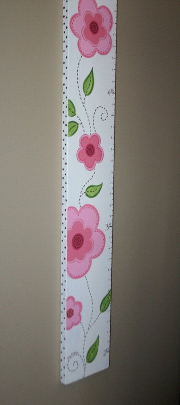 Growth chart - I think I could make this with a few decals