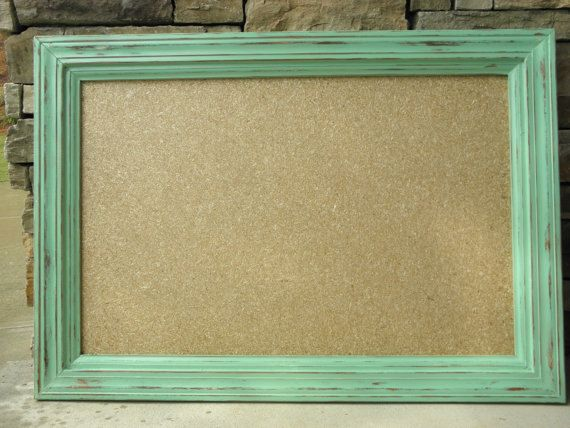 rustic framed cork board by rusticrootsfurniture on etsy 7000