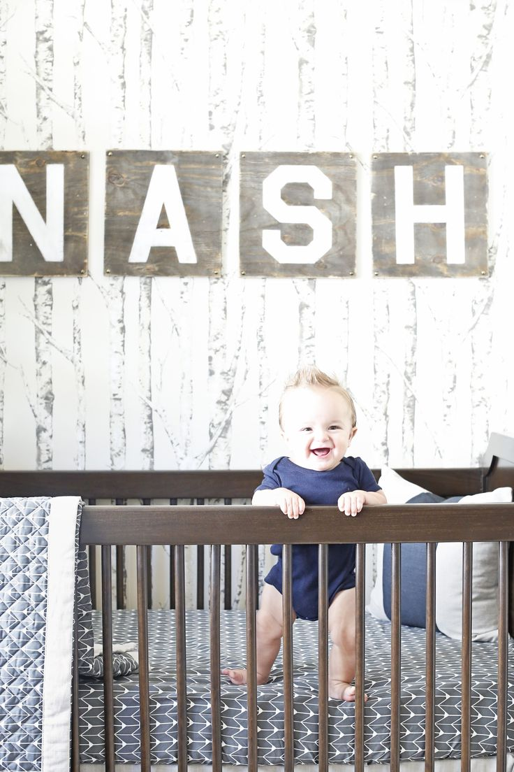 Rustic Modern Baby Boy Nursery - Project Nursery