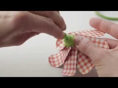 Flower Punch Board by We R Memory Keepers - YouTube