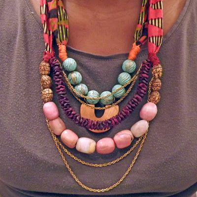 Tyramade necklace.  so fun!  kids would love this one...