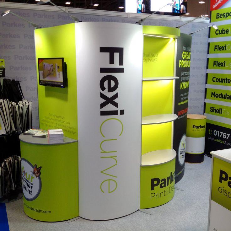 FlexiCurve Exhibition Display Stands from Parkes Print & Design (@ParkesPrint) | Twitter