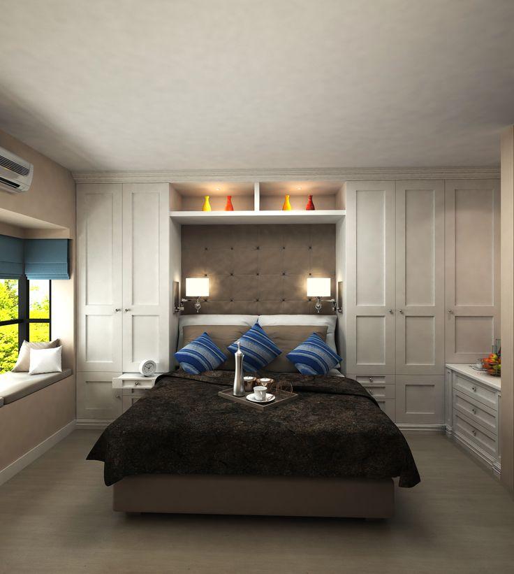 Small Bedroom Cupboard Ideas With Cool Cupboard Designs: Best 25+ Bedroom Cupboards Ideas On Pinterest