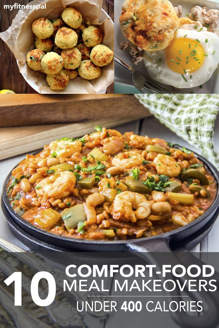 Indulge in your favorite comfort foods without the extra calories, with these 10 recipe makeovers! #myfitnesspal