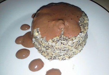 Mákos mikrós süti mézes csokiöntettel | NOSALTY – receptek képekkel
