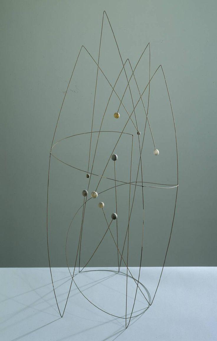 Robert Adams; 'Space Construction with a Spiral', 1950.