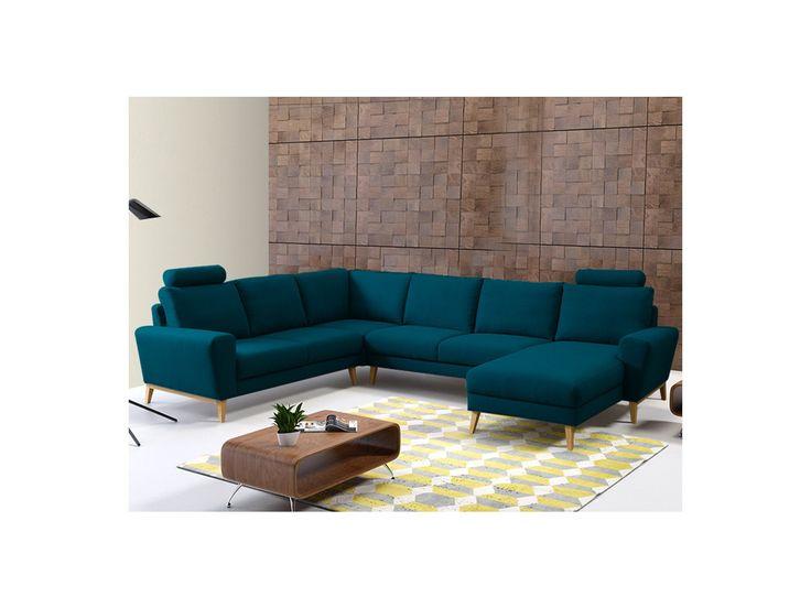 25 best ideas about canap bleu canard on pinterest. Black Bedroom Furniture Sets. Home Design Ideas