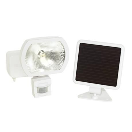 Solar Power Security Motion Detector Outdoor Light no wires, remote $100