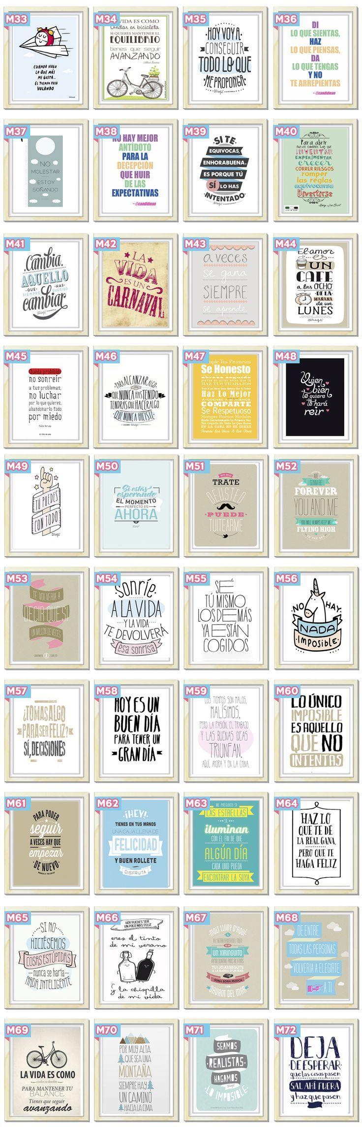 Cuadros Originales Modernos Personalizados Frases