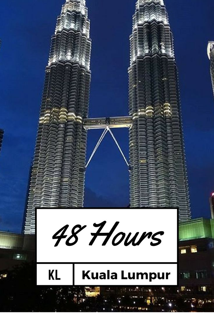 What to do in Kuala Lumpur in 48 hours! A busy city with a lot to do, it's worth the trip. Click here to read more and save for later!