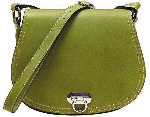 "Floto Women's Saddle Bag in Green Italian Calfskin Leather - #handbag #shoulderbag #forsale  Inside Zip Pocket inside Smartphone Pocket 10"" x 3"" x 8"" Cross Body Adjustable Strap - More at: https://twitter.com/TheMarketer2015/status/613966888910123008/photo/1"