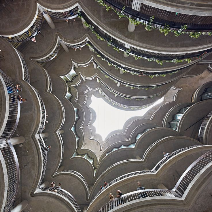 thomas heatherwick's learning hub in singapore comprises 12 tapered towers