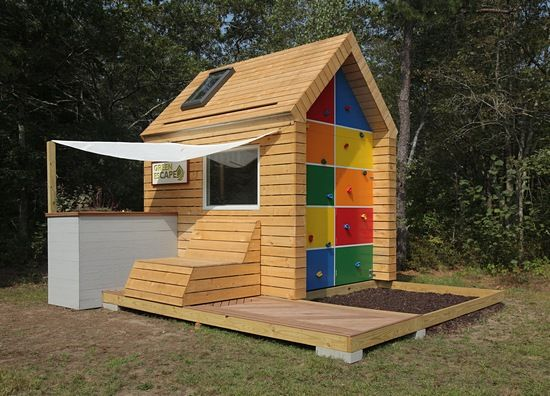 Fort Friday, playhouse by Green esCape