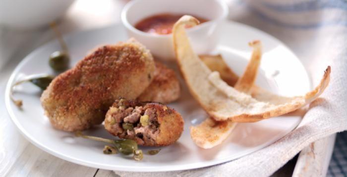 Iniciamos el año con fuerzas renovadas. Sobras de carne de las Fiestas? Ya sabes: deliciosas croquetas! #gastronomía