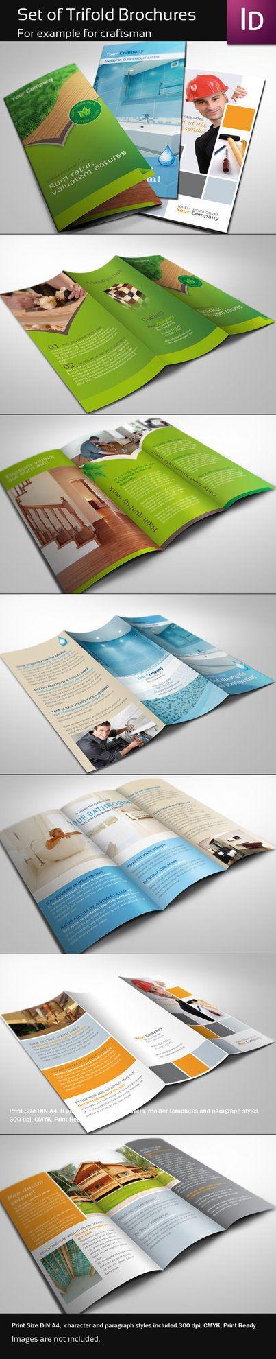 30 Contoh Desain Brosur Lipat Tiga | 24_Trifold-Brochures