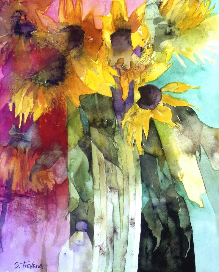 shirley trevena watercolor